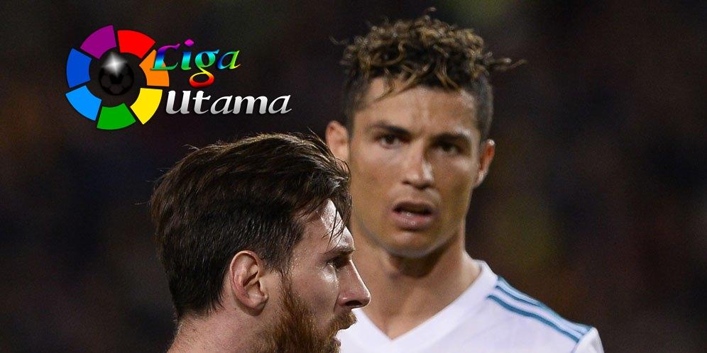 Cristiano Ronaldo Levelnya di Bawah Lionel Messi