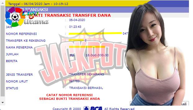 Member Liga Utama Menang Live Casino Sampai Jutaan