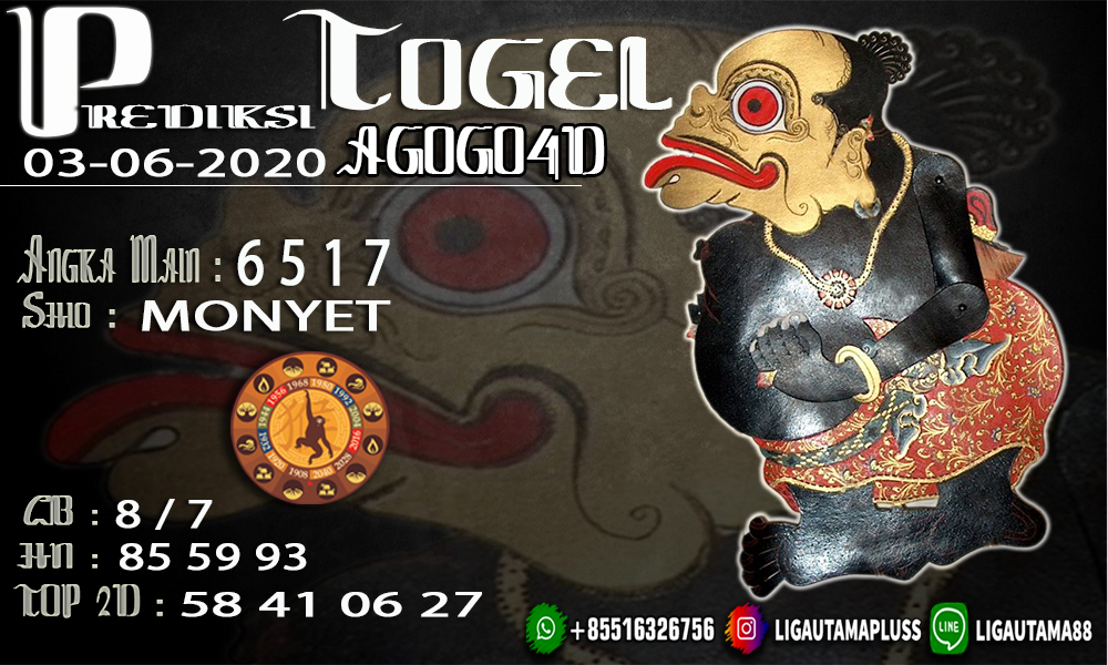 PREDIKSI AGOGO 4D 03 JUNI 2020 LIGA UTAMA