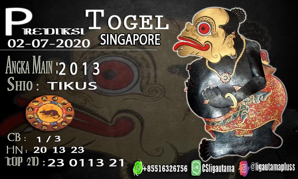 PREDIKSI SINGAPORE 02 Juli 2020