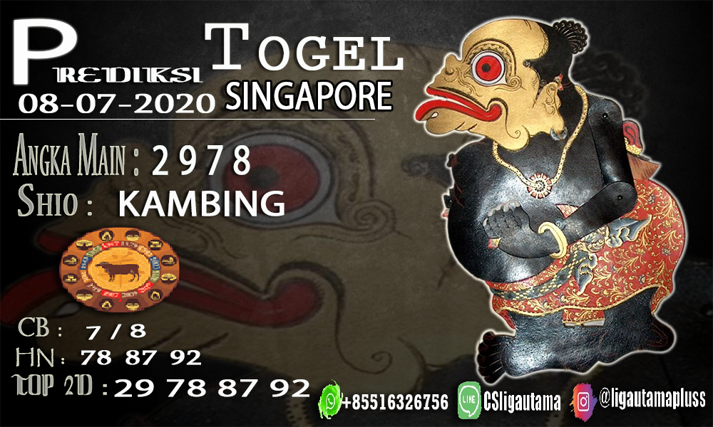 PREDIKSI SINGAPORE 08 Juli 2020