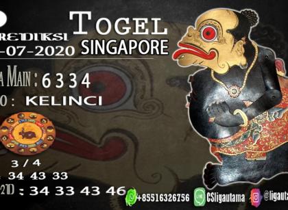PREDIKSI SINGAPORE 05 Juli 2020