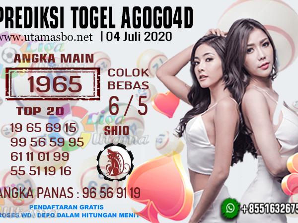 PREDIKSI AGOGO 4D 04 JULI 2020