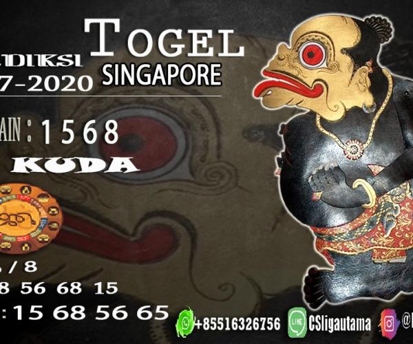 PREDIKSI SINGAPORE 04 Juli 2020