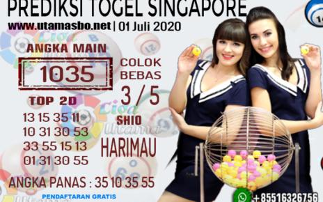 PREDIKSI SINGAPORE 01 Juli 2020