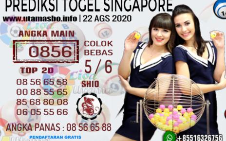 PREDIKSI TOGEL SINGAPORE 22 AGUSTUS 2020