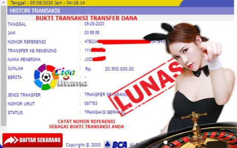 Menang Live casino