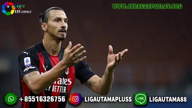 Striker AC Milan Zlatan Ibrahimovic Positif COVID-19