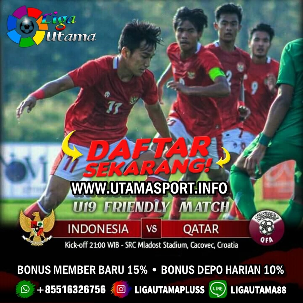 Prediksi Timnas Indonesia U-19 Vs Qatar U-19 - LigaUtama
