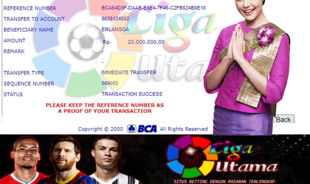 Jackpot Slot Games Di Liga Utama