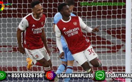 Gol Eddie Nketiah Bawa The Gunners Kandaskan West Ham
