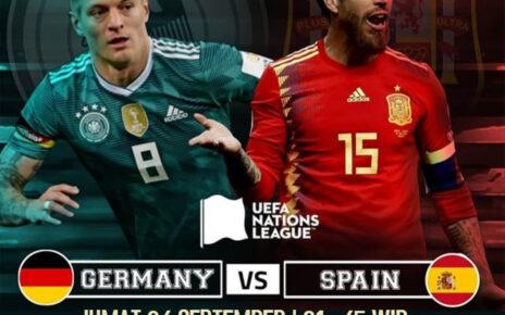 Hasil Pertandingan Jerman vs Spanyol: Skor 1-1