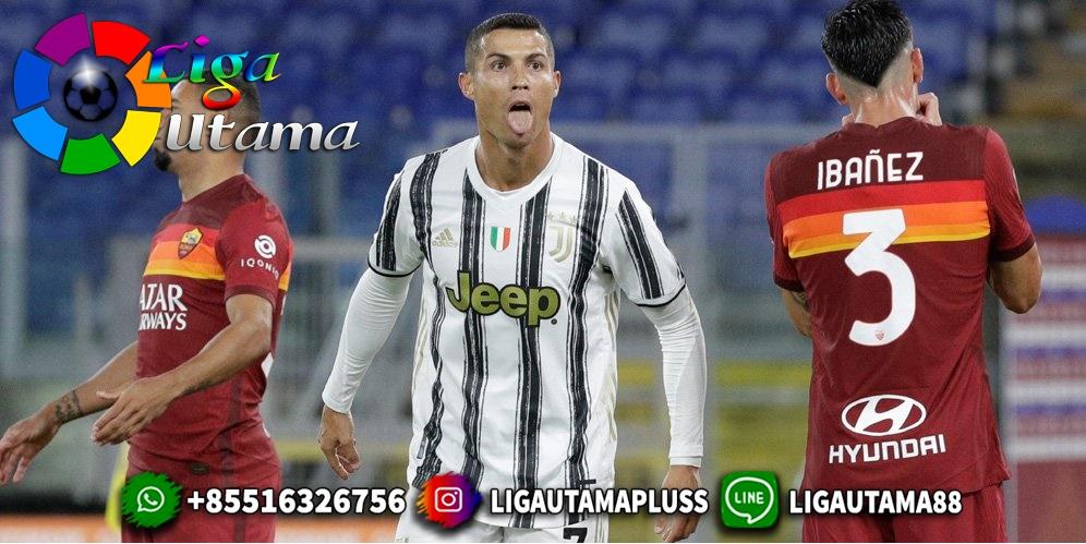 Cristiano Ronaldo Bikin Gol Sundulan Spektakuler