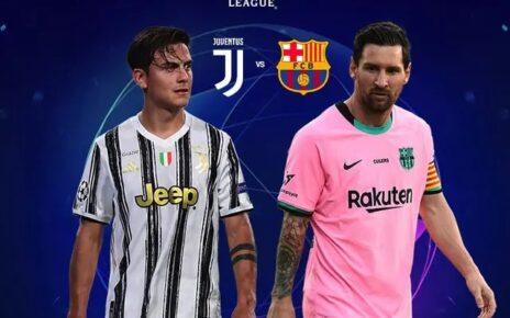 Barcelona Bungkam 10 Pemain Juventus di Allianz Stadium