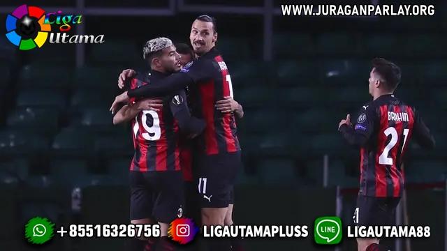 Dua Pemain Cetak Gol Perdana Rossoneri Curi Poin Penuh