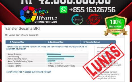 BUKTI WITHDRAW LIGA UTAMA 21 FEB 2021