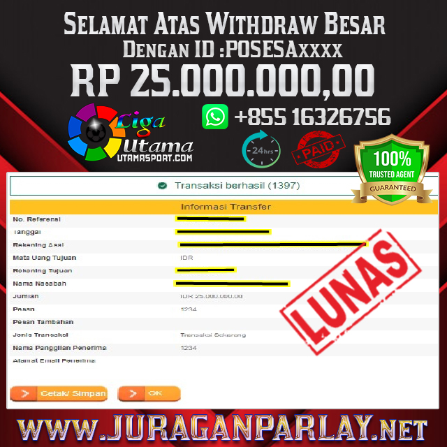 BUKTI WITHDRAW LIGA UTAMA 28 FEB 2021