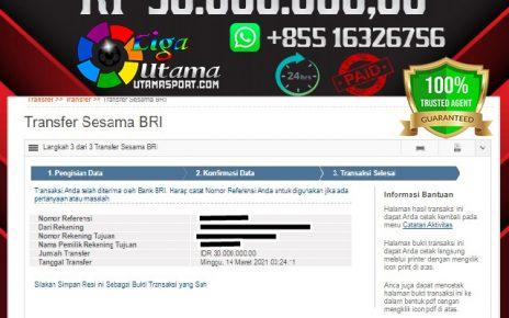 JACKPOT LIGA UTAMA 14 MAR 2021