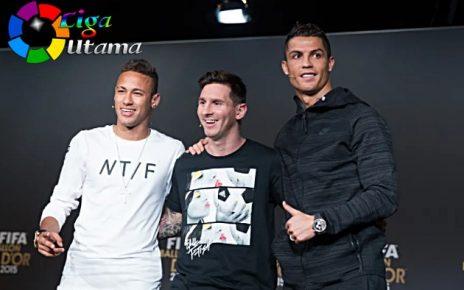Gabungan Ronaldo dan Messi Pemain Sempurna Versi Neymar