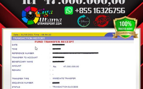 JACKPOT LIGA UTAMA 31 MAY 2021