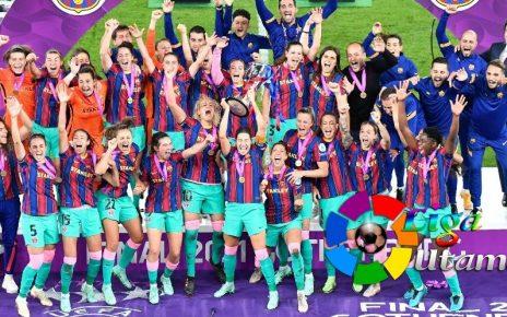Barcelona Femeni Sukses Raih Gelar Juara Liga Champions