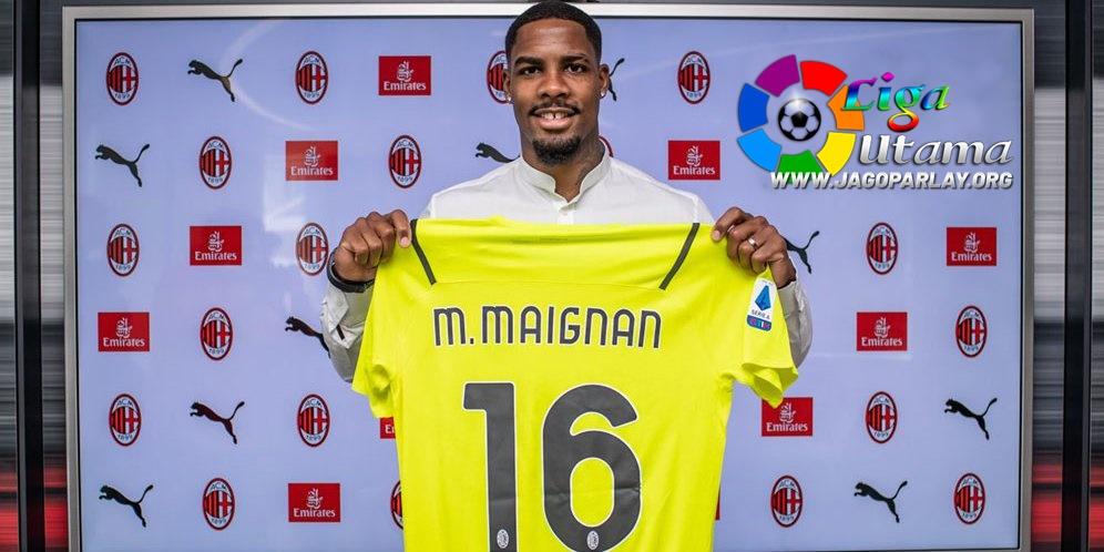 AC Milan Resmikan Perkrutan Mike Maignan