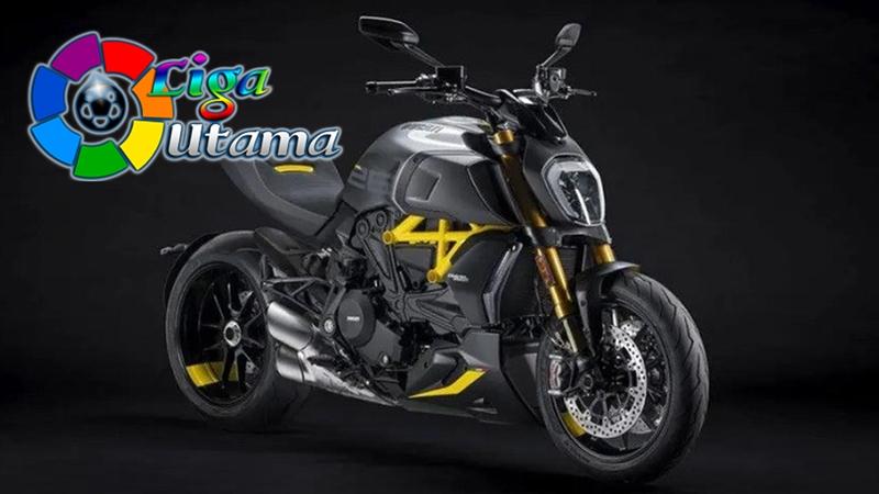 Sangarnya Ducati Diavel 1260 S Black and Steel Edition