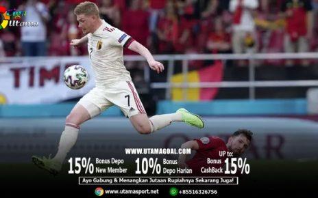 Kevin De Bruyne 45 Menit Bermain untuk Belgia dan Cetak Gol Plus Assist