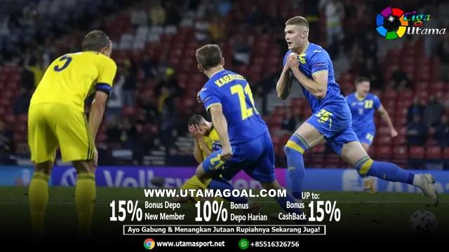 Ukraina Melaju di Perempat Final Usai Kalahkan Swedia Lewat Gol Menit 121