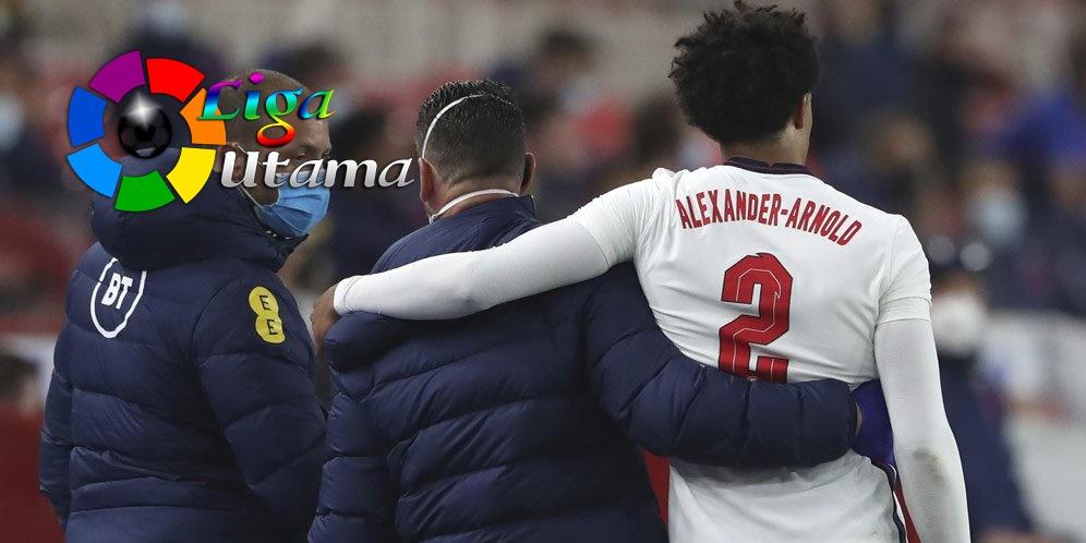 Alexander-Arnold Dipastikan Absen Bela Inggris di Euro 2020