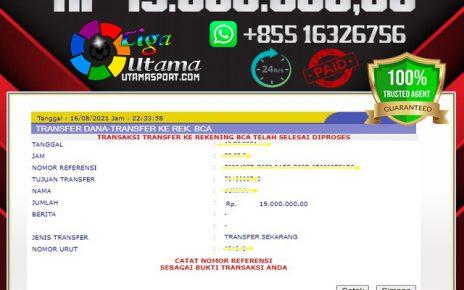 BUKTI WITHDRAW MEMBER LIGA UTAMA 17 AGUSTUS 2021