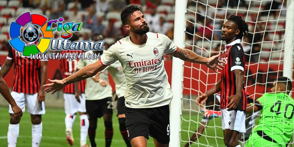 Giroud Ajak Hakim Ziyech Main di AC Milan