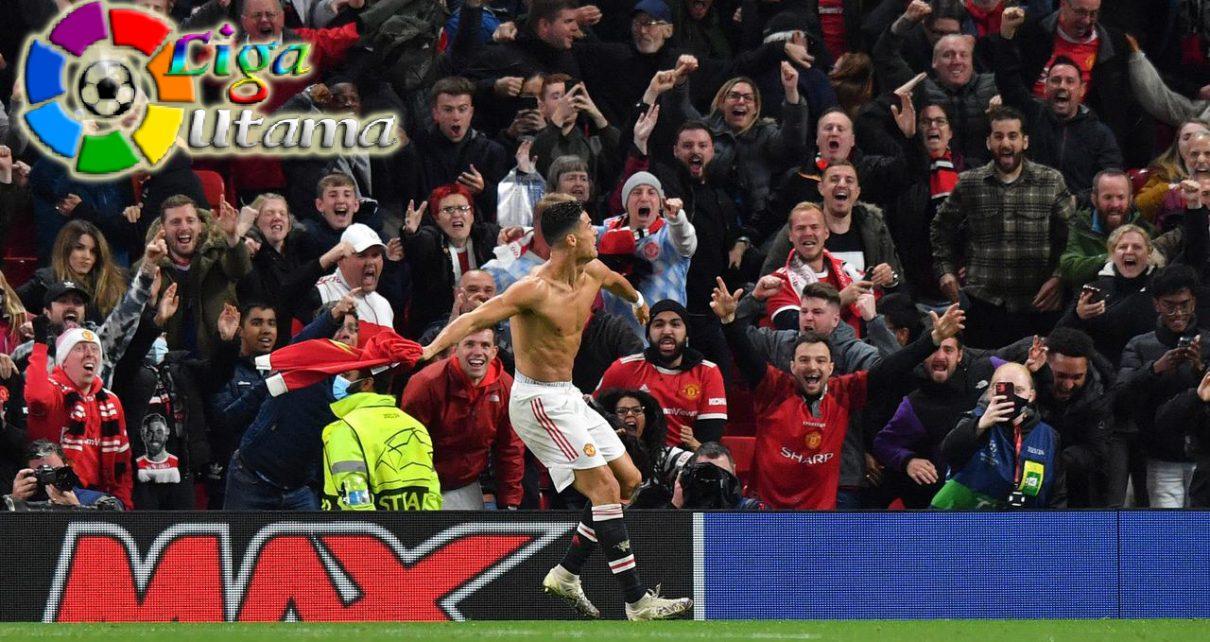 Cristiano Ronaldo Antar Manchester United Rebut Kemenangan Perdana di Liga Champions