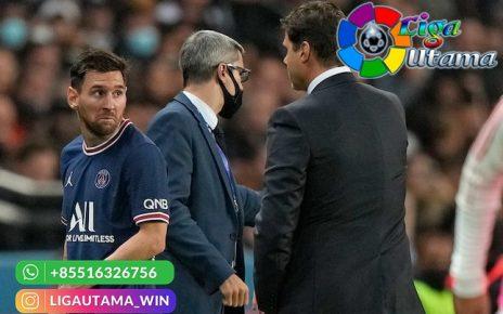 Messi Ngambek Saat Diganti Tolak Jabat Tangan Pochettino