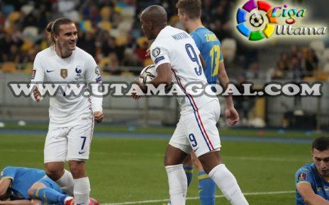 Hasil Kualifikasi Piala Dunia 2022 Ukraina vs Prancis: Skor 1-1