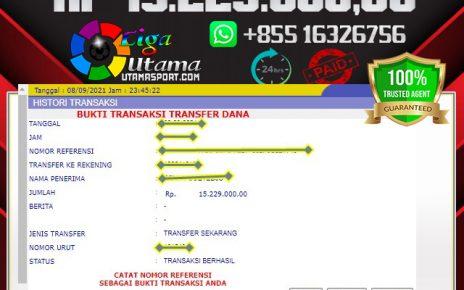 BUKTI WITHDRAW MEMBER LIGA UTAMA 9 SEP 2021