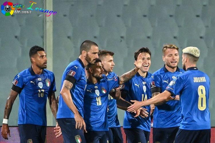 Catatan Tak Terkalahkan Timnas Italia Terhenti